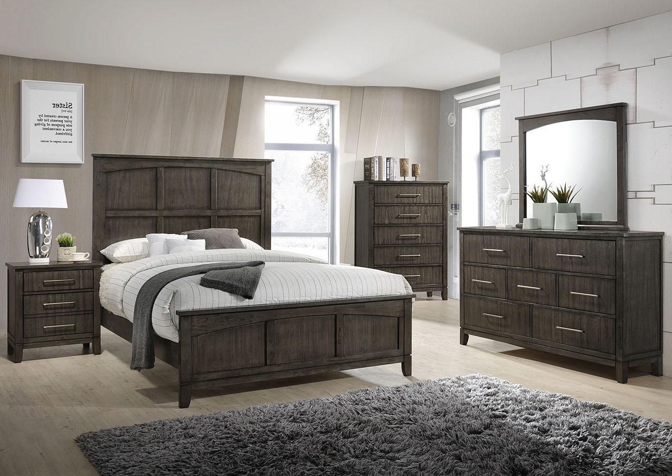 Marlins Furniture: PRESTON KING BED