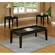 3 PACK COFFEE END TABLE SET