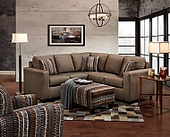 3850  SECTIONAL TOAST               SIZE  88 X 88