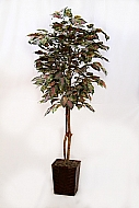 5FT FLOCKED FICUS