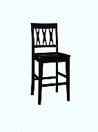 Abbie Counter Chair (Pack 2/Carton), Bordeaux
