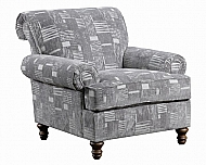 ACCENT CHAIR KINGSLEY PEWTER (STARLIGHT PEWTER)