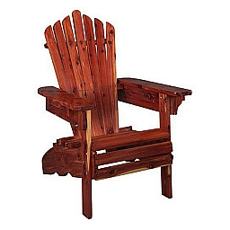 ADIRONDACK CHAIR  RED CEDAR 7/8 THICK STAINLESS STEEL HARDWARE