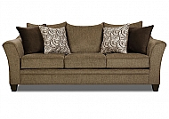 ALBANY TRUFFLE- SOFA (ALSO ALAILABLE IN PEWTER)