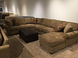 APPLAUSE DESERT- SECTIONAL WITH CHAISE
