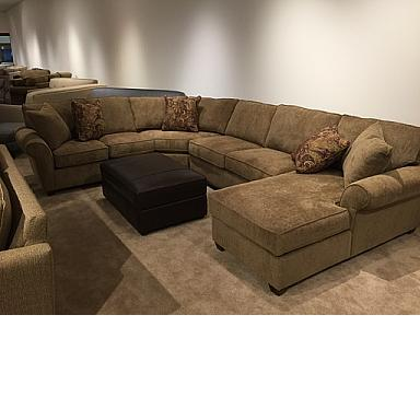 APPLAUSE DESERT  SECTIONAL WITH CHAISE