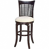 Bayberry- Swivel Counter Stool -  Dark Cherry