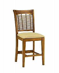 Bayberry Non-Swivel Counter Stool OAK - Set of 2 REDUCED PRICE WHILE SUPPLIES LAST