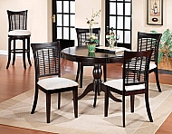 Bayberry Round Table - Dark Cherry