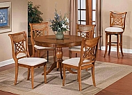 Bayberry Round Table - Oak