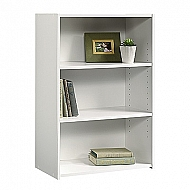 BEGINNINGS 3 SHELF BOOKSHELF WHITE 35X25X12