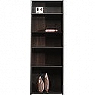 BEGINNINGS 5 SHELF BOOKCASE CINAMON CHERRY