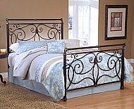 BRADY BED SET- FULL - WITH RAILS