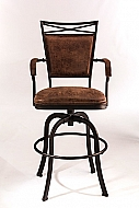 BRIDGETOWN TILT/SWIVEL COUNTER STOOL