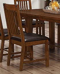 BUCHANAN DINING CHAIR (MUST BE PURCHASED IN SETS OF 2)- BROWN MAHOGANY