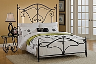 CAFFREY BED SET-FULL-RAILS NOT INCLUDED