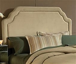 Carlyle Fabric Headboard -BUCKWHEAT-QUEEN