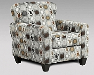 CHAIR PAINT BALL GRANITE 24 x 36 x 38