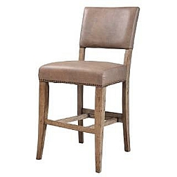 CHARLESTON PARSON NON-SWIVEL STOOL -SET OF 2