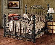 CHESAPEAKE BED SET- KING- WITH RAILS