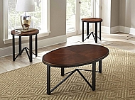 CHLOE- 3-PACK OCCASIONAL TABLE SET