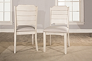 CLARION WOOD DINING CHAIR - SET OF 2 - SEA WHITE