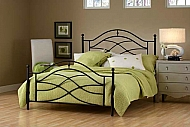 COLE BED SET- KING-RAILS NOT INCLUDED