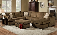CORNELL COCOA- SECTIONAL