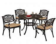 Esterton 5-Piece Round Dining Set