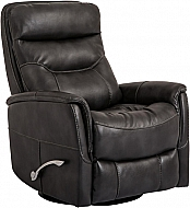 GEMINI SWIVEL GLIDER RECLINER- FLINT