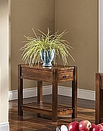 GIVERNY CHAIRSIDE TABLE- AFRICAN HONEY