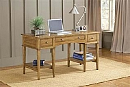 GRESHAM DESK - MEDIUM OAK