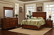 ISLAND RETREAT COLLECTION QUEEN 4 PIECE BEDROOM SET