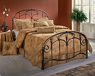 JACQUELINE BED SET-KING- RAILS NOT INCLUDED