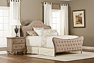 Jefferson Bed Set-Queen-Rails not included
