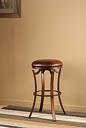 Kelford Backless Swivel Bar Stool