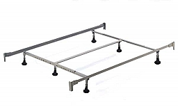 KING QUEEN 6 LEG BOLT ON HEADBOARD AND FOOTBOARD FRAME  83.5L x 78W