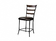 CAMERON- LADDER BACK NON SWIVEL COUNTER STOOL
