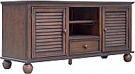 "NANTUCKET 60"" TV STAND - ALLSPICE"