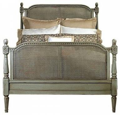 LOUIS CANE KING HEADBOARD ONLY
