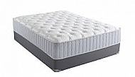 MARIS PLUSH- QUEEN MATTRESS AND FOUNDATION W/ RENUE COOLING TECHNOLOGY