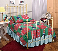 Molly Bed Set yellow - Twin - w/Rails