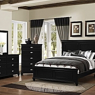 NANTUCKET- QUEEN  4 PIECE BEDROOM SET