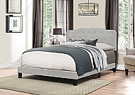 NICOLE BED IN ONE- QUEEN- GLACIER GRAY