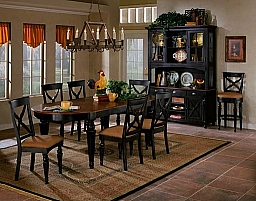 NORTHERN HEIGHTS 7 PIECE DINING SET