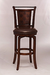 Norwood Swivel Counter Stool BROWN