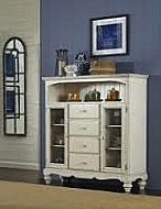 PINE ISLAND FOUR DRAWER BAKER'S CABINET