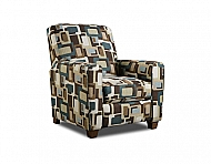 PUSH-BACK RECLINER- FUSION TEAL