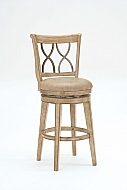 Reydon Swivel Bar Stool - LIGHT FINISH