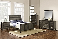 RICHFIELD- QUEEN BED, DRESSER, MIRROR, NIGHSTAND, CHEST